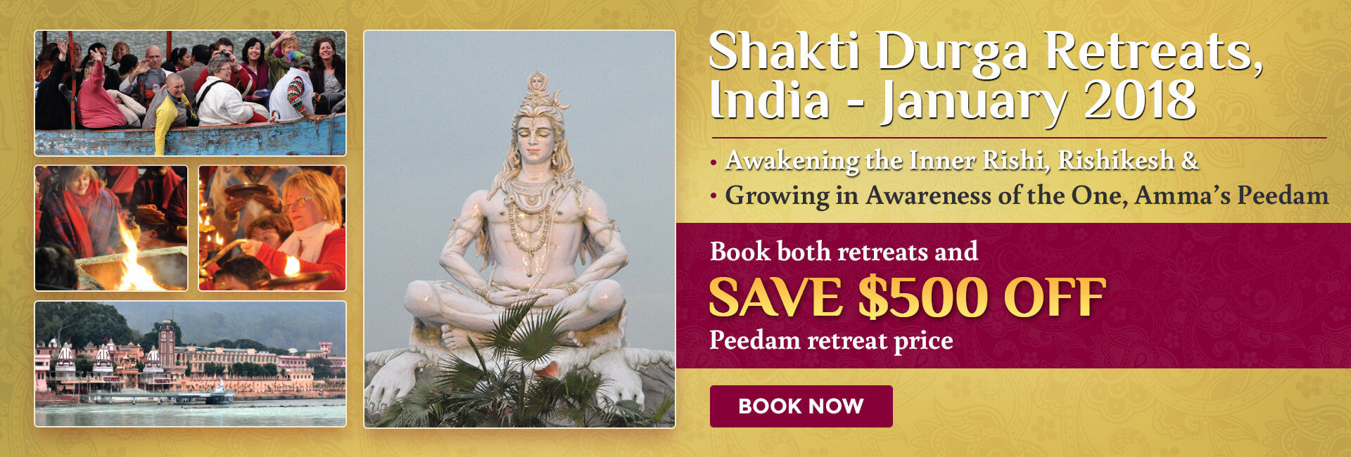 Shakti Durga India Retreats 2018
