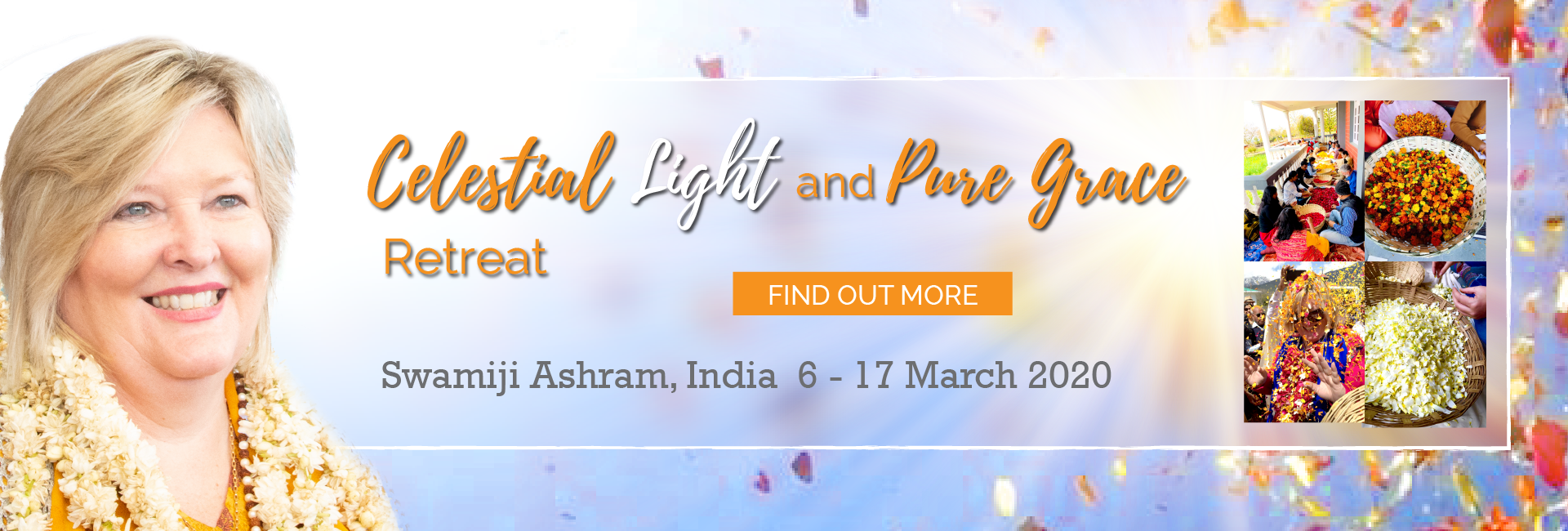 Celestial Light and Pure Grace Retreat with Shakti Durga